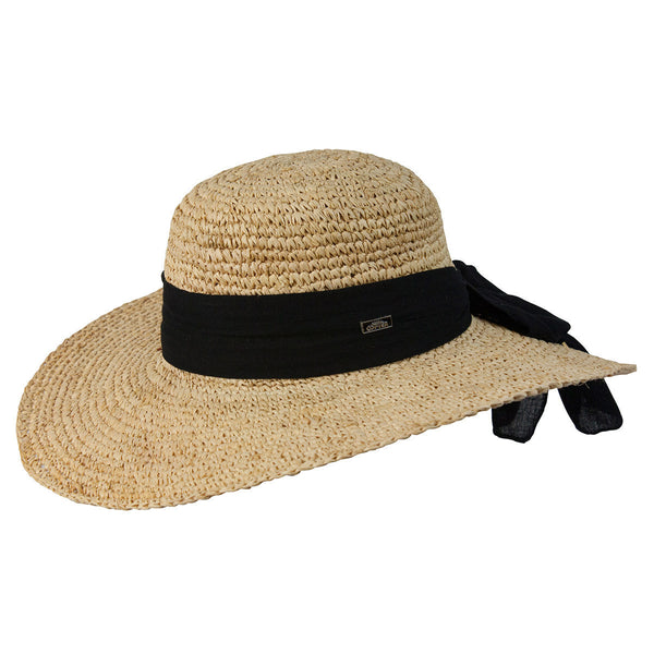 Conner Hats Floppy Hats Natural / One Size Latin Quarter Ladies Raffia Sun Hat