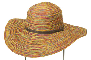Conner Hats Floppy Hats Multi / One Size Summer in Charleston Wide Brimmed Toyo Hat