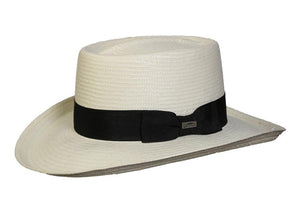 Conner Hats Gamblers Ivory / Small Southern Shade Toyo Straw Hat