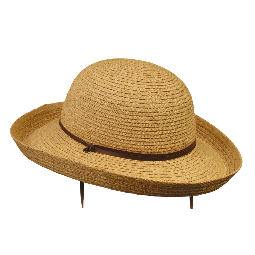 Conner Hats Gardening Hats Natural / One Size Bangalow Ladies Straw Gardening Hat