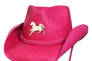 Conner Hats Kids Hats Fuchsia / One Size Happy Horse Kids Western Hat