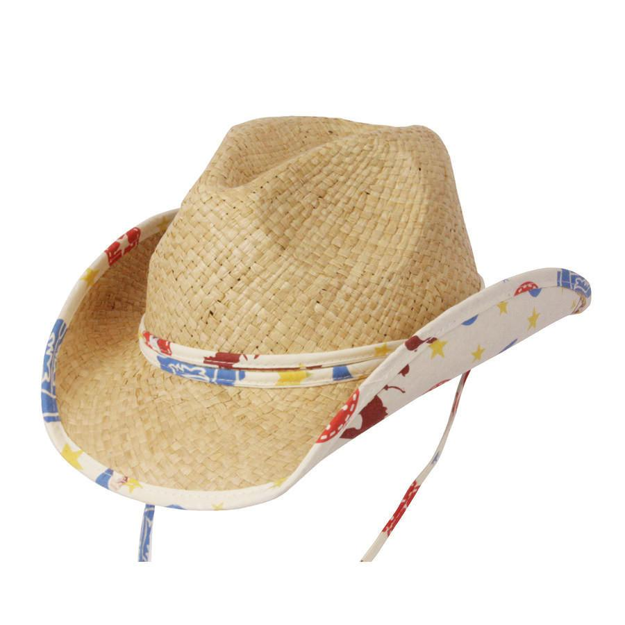 Conner Hats Kids Hats Natural / One Size Lil' Bronco Kids Western Hat