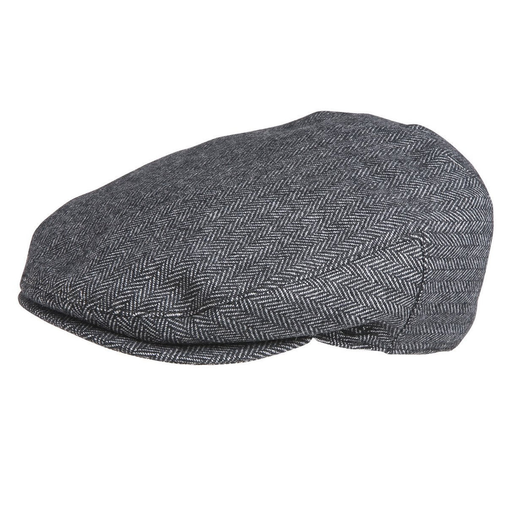 Conner Hats Newsboy/Flat Caps Grey / Small Alfred Gentlemans Herringbone Drivers Cap
