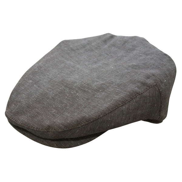 Conner Hats Newsboy/Flat Caps Brown / Small Bashford Newsboy Cap