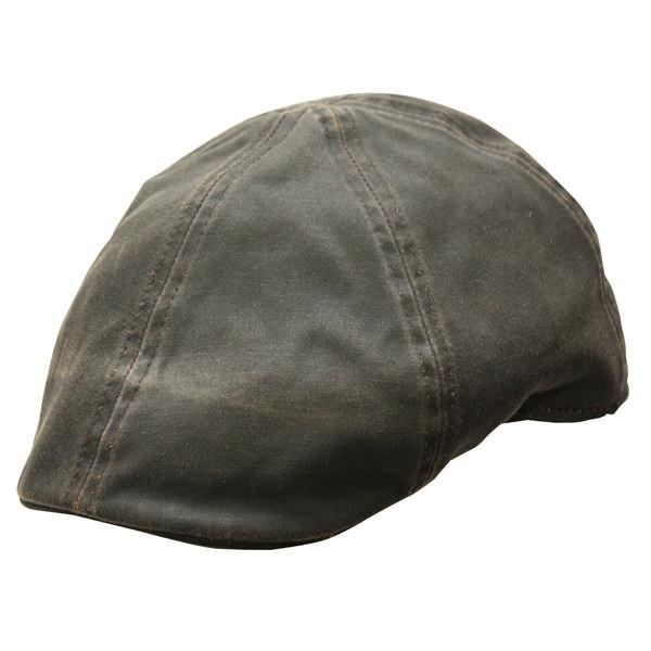 Conner Hats Newsboy/Flat Caps Brown / XX-Large Merrik Cotton Newsboy Cap