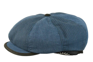 Conner Hats Newsboy/Flat Caps Blue / Small Say What!? Corduroy Cap