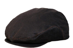 Conner Hats Newsboy/Flat Caps Brown / Small Swansey Weathered Cotton Newsboy Cap