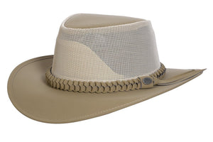 Conner Hats Outback Hats Khaki / Small Aussie Golf Soakable Mesh Hat