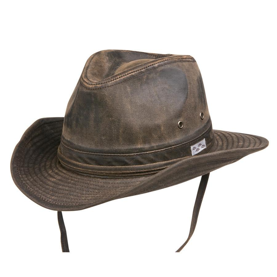 Conner Hats Outback Hats Brown / Small Bounty Hunter Water Resistant Cotton Hat
