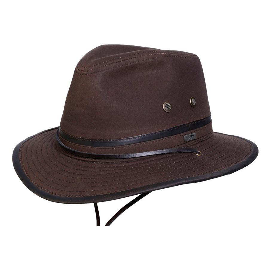 Conner Hats Outback Hats Brown / Small Mountain Trail Waxed Cotton Hat