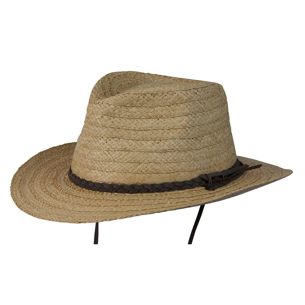 Conner Hats Outback Hats Natural / Small/Medium Myrtle Beach Organic Raffia Hat
