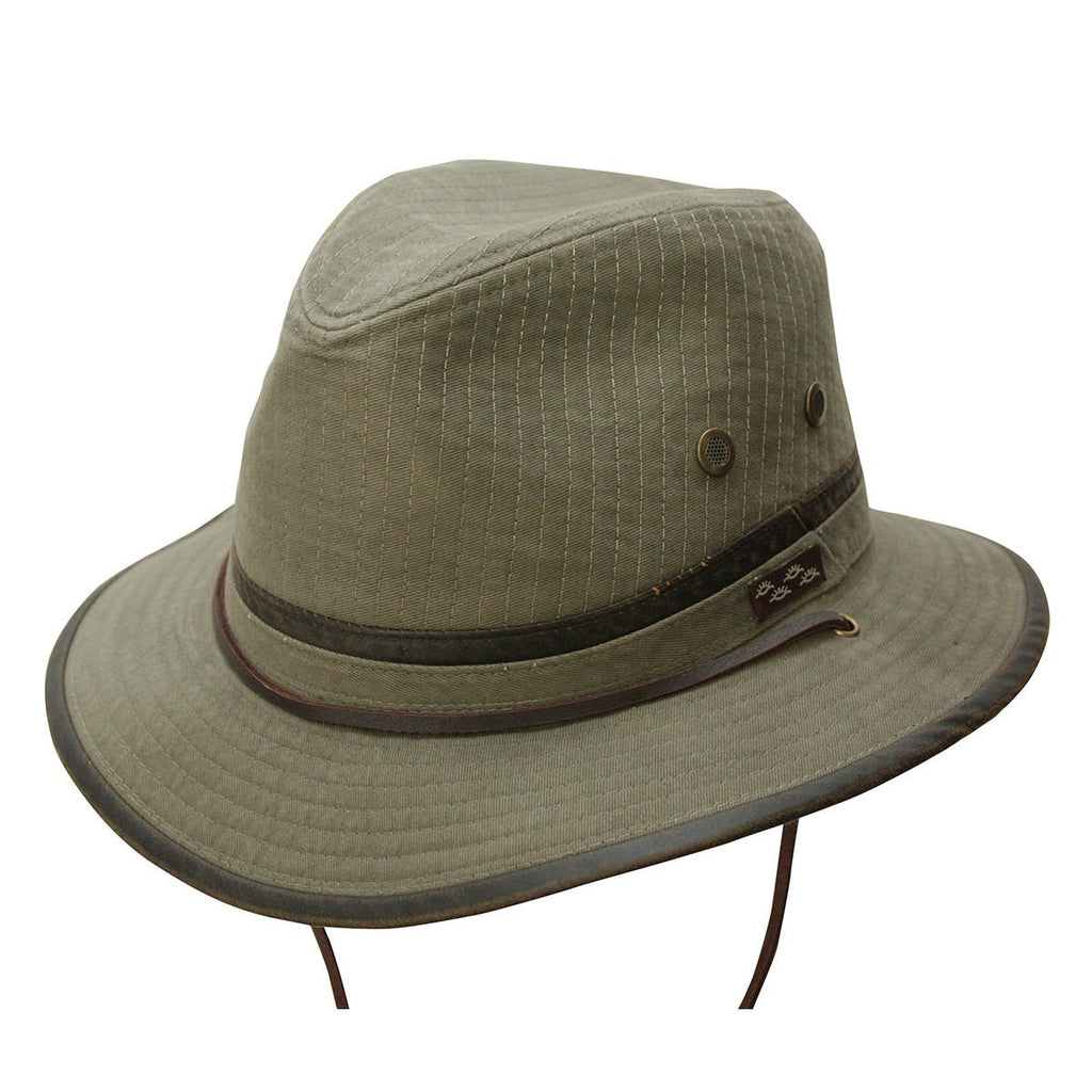 Conner Hats Outback Hats Olive / Small Oak Tree Island Outdoor Hat