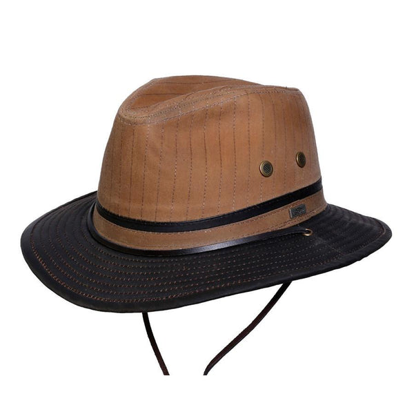 Conner Hats Outback Hats Brown / Small Smokey Creek Waxed Cotton Hat