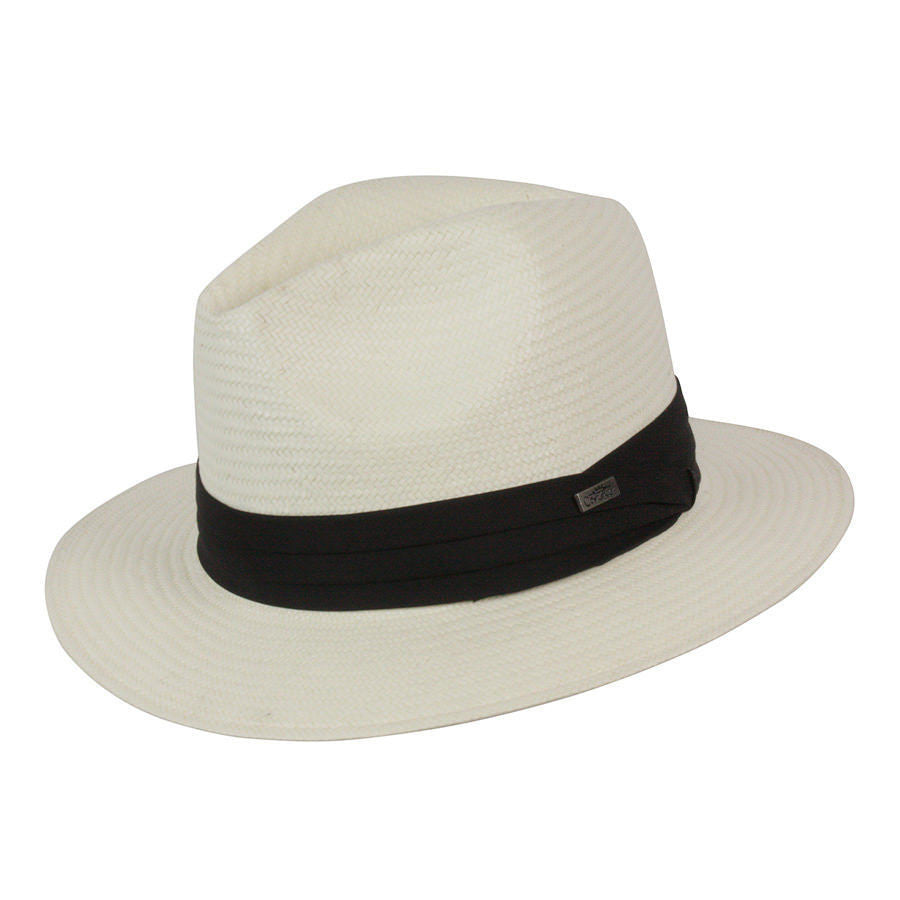 Conner Hats Safari Hats White / Small/Medium Jensen Panama Straw Hat