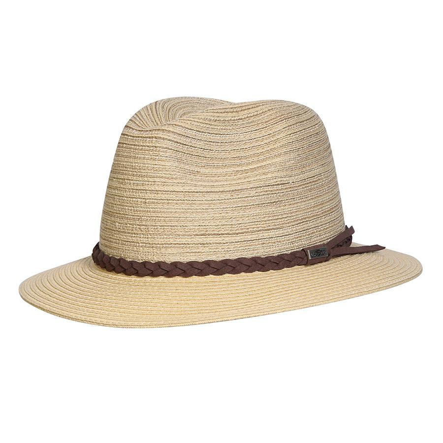 Conner Hats Safari Hats Natural/Taupe / Small Sea Island Walker Hat