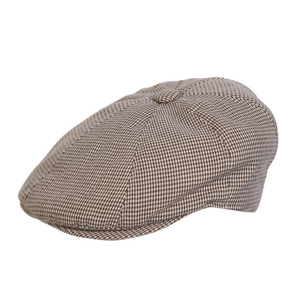 Conner Hats Brown Mix / Small The Chatsworth Newsboy Hat