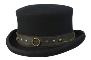 Conner Hats Top Hats Black / Small Jubilee Steampunk Top Hat