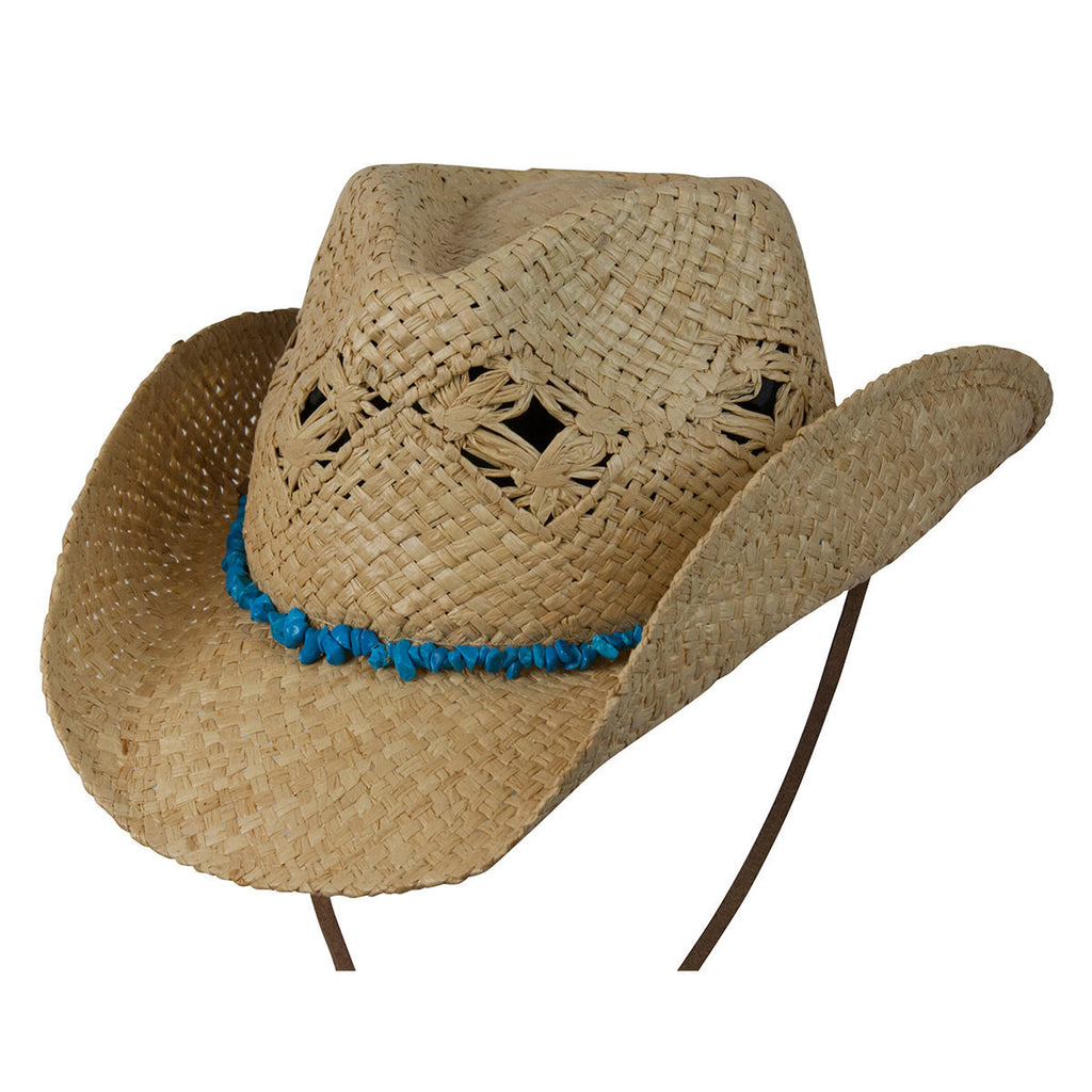Conner Hats Western Hats Natural / One Size Cascade Mountain Organic Raffia Western Hat