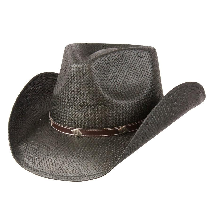 Conner Hats Western Hats Black   Small Medium Country Style Toyo Hat f2f07287fb3