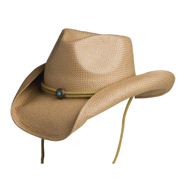 Conner Hats Western Hats Tan / One Size Fairhope Western Straw Hat