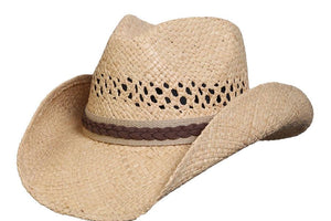 Conner Hats Western Hats Natural / Small/Medium Good Day Raffia Western Hat
