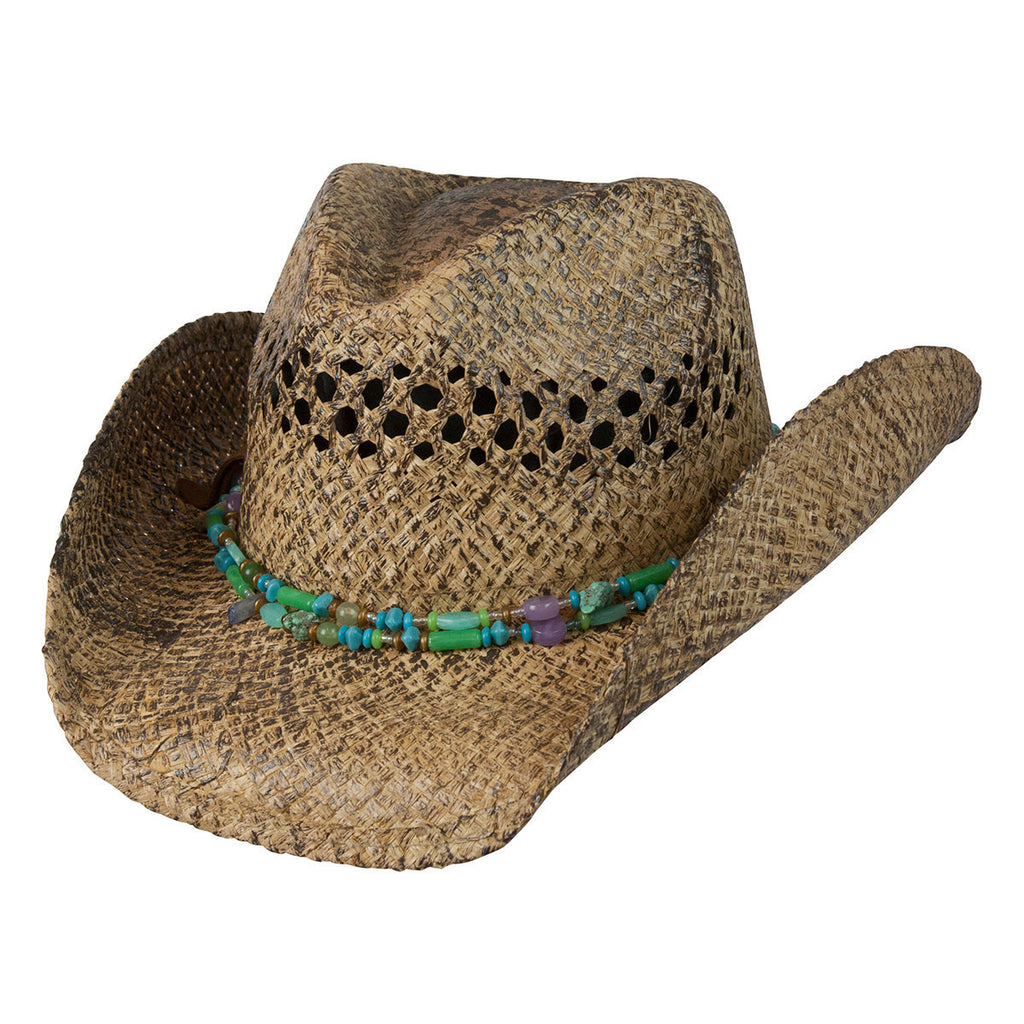 Conner Hats Western Hats Coffee / One Size Mesa Girls Removable Necklace Western Hat