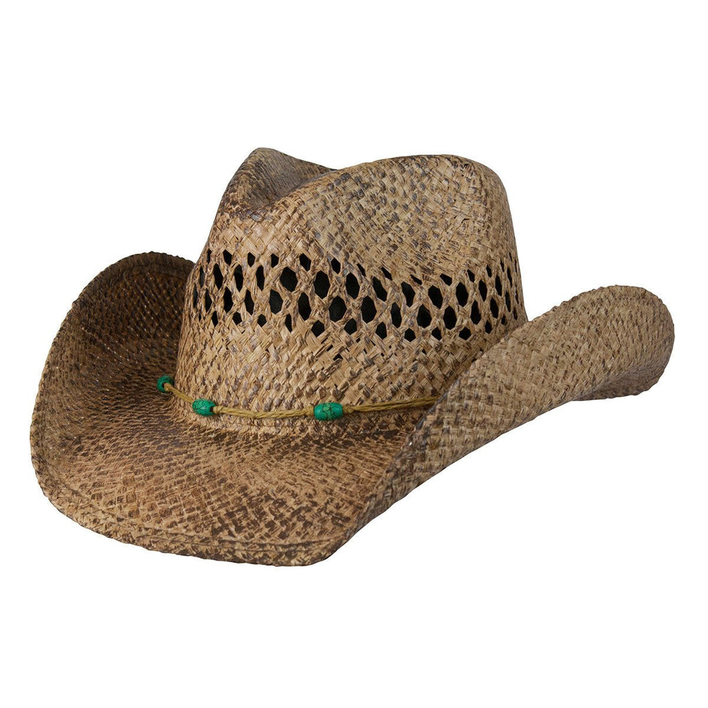 Conner Hats Western Hats Coffee / Small/Medium Stormy Western Shapeable Straw Hat