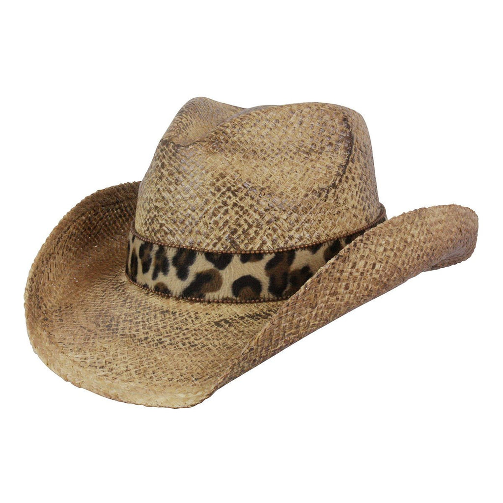 Conner Hats Western Hats Coffee / One Size That Girl Organic Raffia Western Hat
