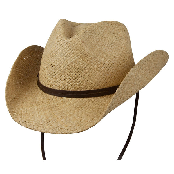 Conner Hats Western Hats Natural / Small/Medium The Original Western Raffia Shapeable Hat