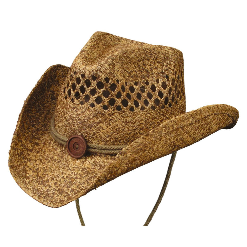 Conner Hats Western Hats Coffee / Small/Medium Tulsa Western Vented Straw Hat