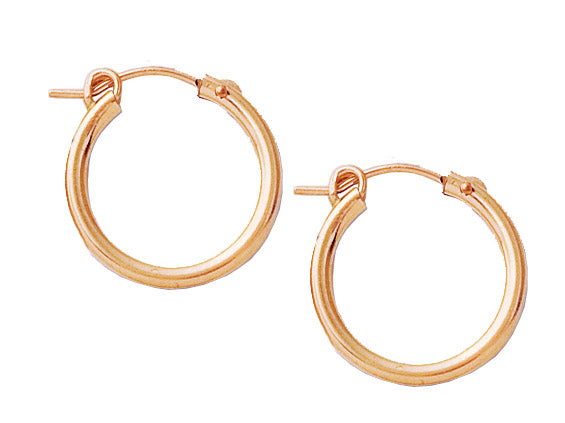 Gold Filled 18mm Hoops