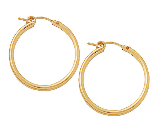 Gold Filled Hoops (27mm)