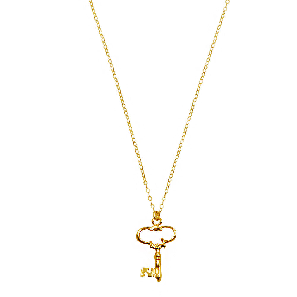 Big Key Necklace