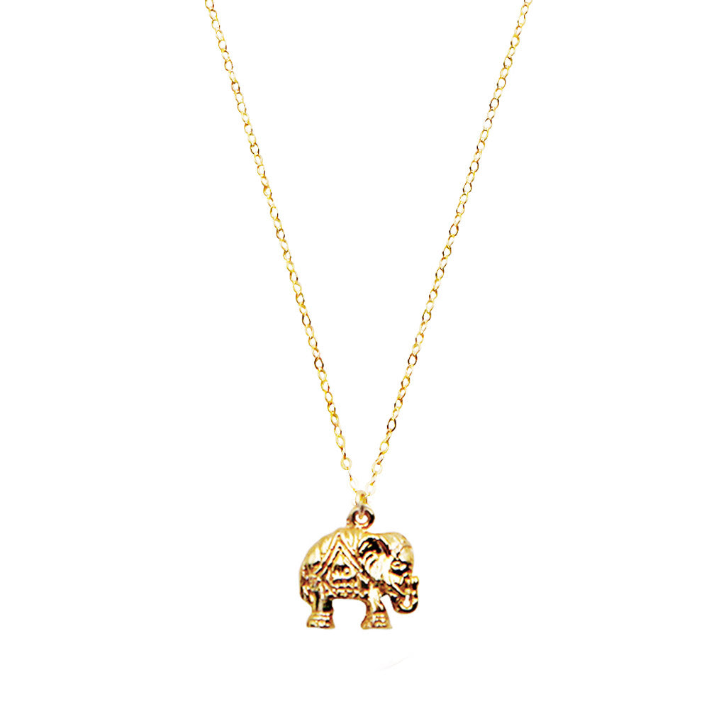 Elephant Good Luck Necklace