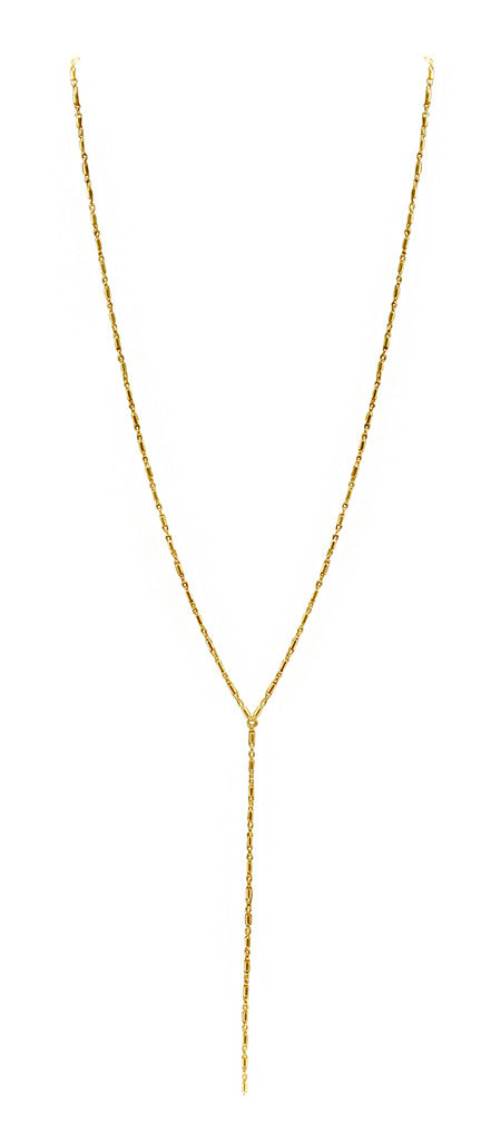 Y Necklace (Round Bar)
