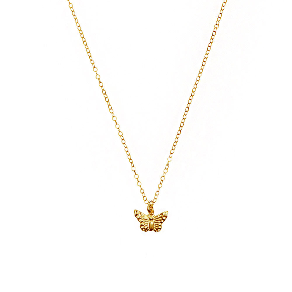 Single Butterfly Necklace