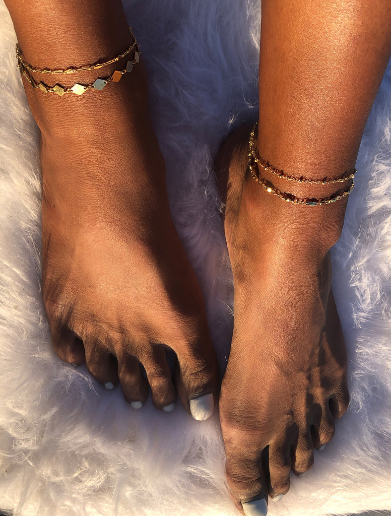 Triangle Bar Anklet
