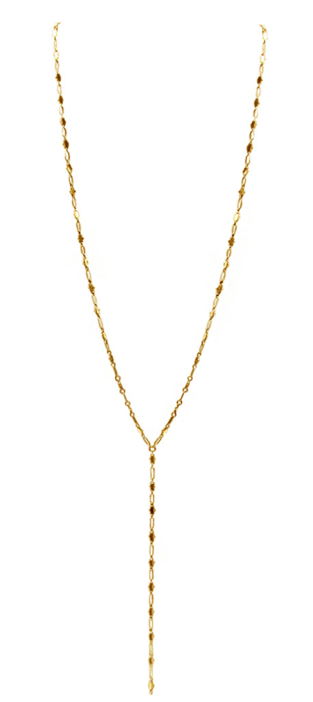 Y Necklace (Triangle Bar)