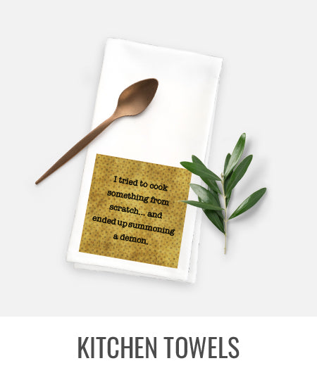 Microfibre suede kitchen towels