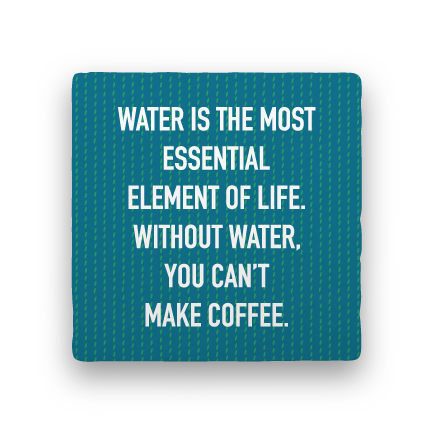 Essential Element-Coffee Talk-Paisley & Parsley-Coaster