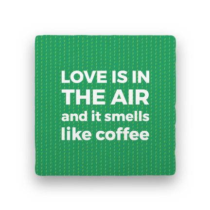Love Is in the Air-Coffee Talk-Paisley & Parsley-Coaster