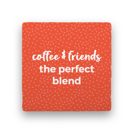 Perfect Blend-Coffee Talk-Paisley & Parsley-Coaster