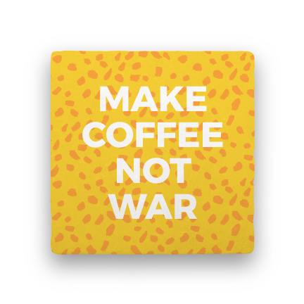 Make Coffee-Coffee Talk-Paisley & Parsley-Coaster