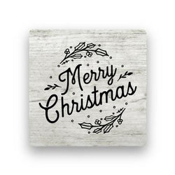 Merry Christmas - Wood