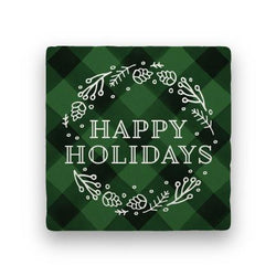 Happy Holidays - Green