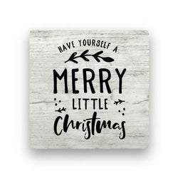 Merry Little Christmas - Wood