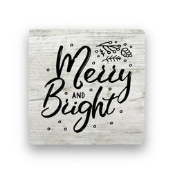 Merry and Bright - Wood