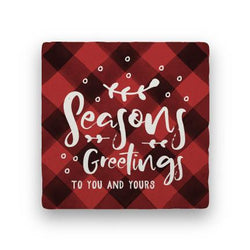 Seasons Greetings - Red