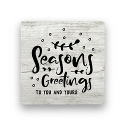 Seasons Greetings - Wood