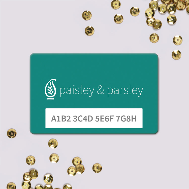 Paisley & Parsley Gift Card
